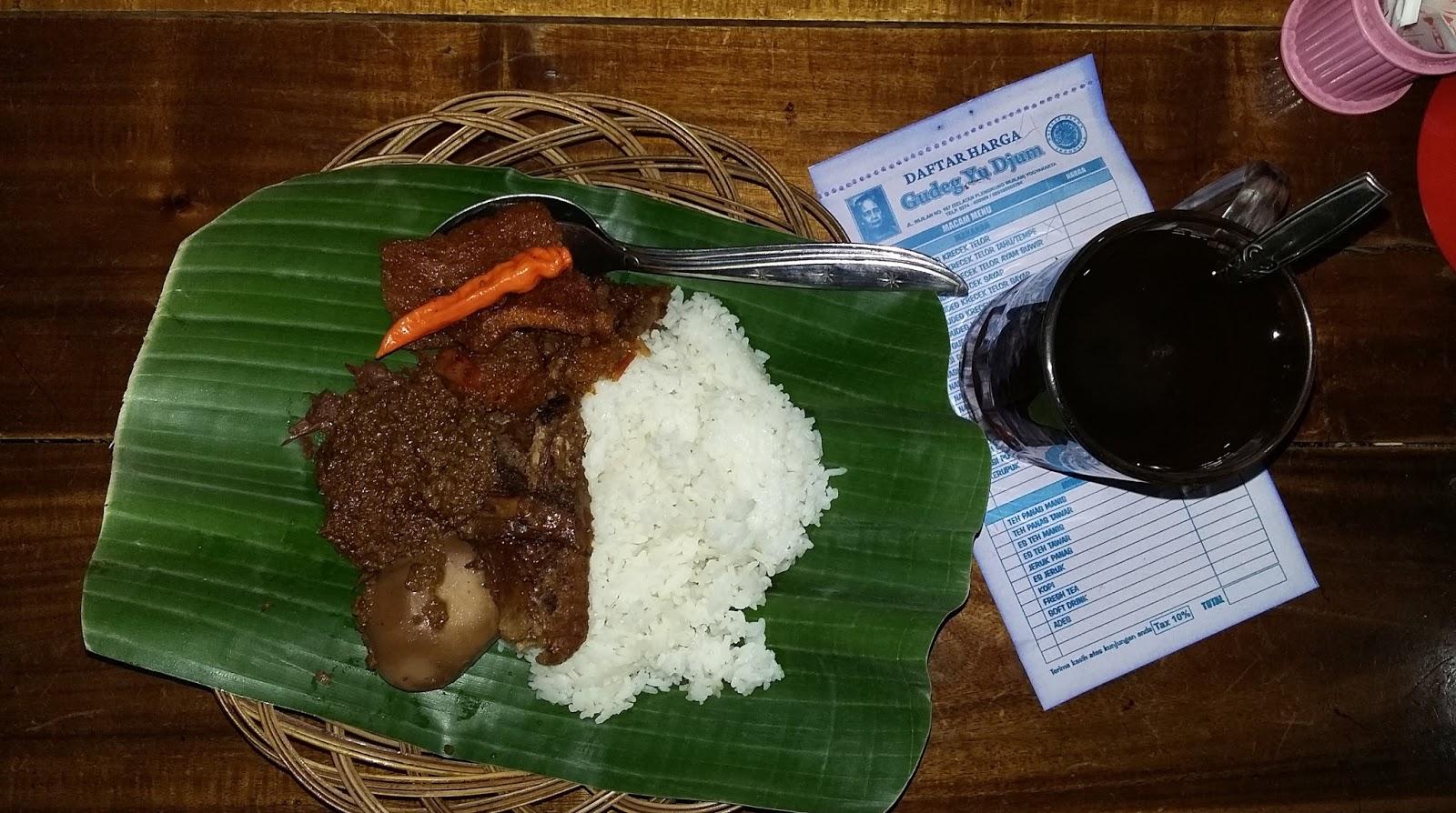 Gudeg Makanan Khas Indonesia Yang Mendunia Dari Yogyakarta