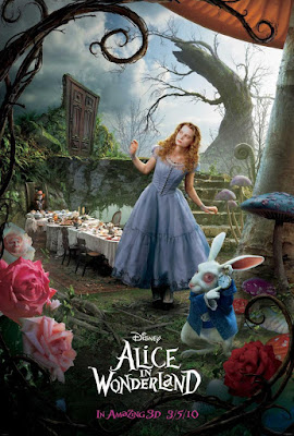 Alice In Wonderland 2010 DVD R1 NTSC Latino