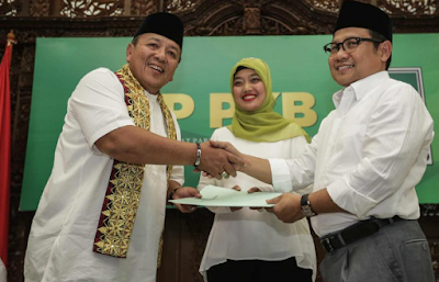 PKB Akhirnya Deklarasikan Chusnunia Chalim Berlabuh ke Arinal Djunaidi