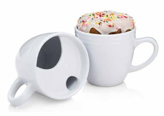 A donut warming coffee mug is a great gift idea that will ensure a very happy morning for the recipient!