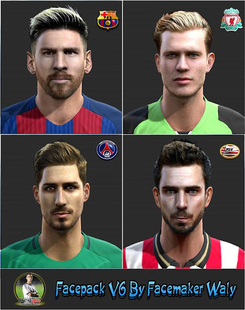 PES 2013 Facepack V6 By FacemakerWaly