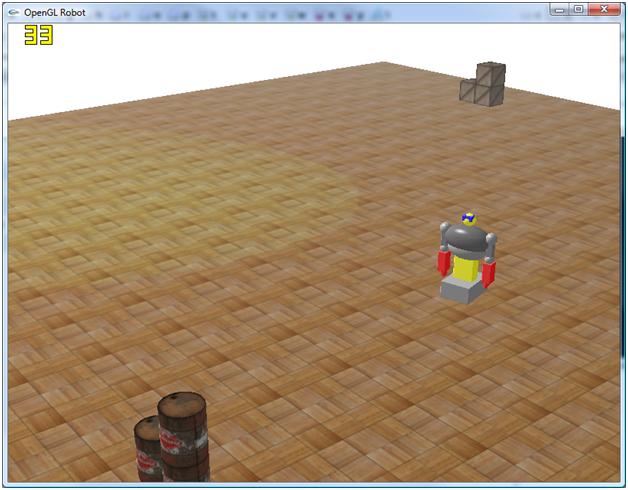 gRobot - Israel Student OpenGL Computer Graphics Program