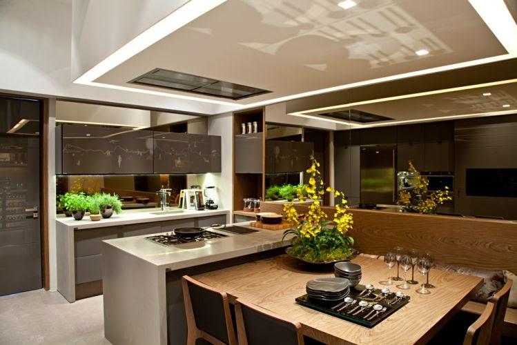 Construindo minha casa clean: tendência de cozinhas com ilha ...