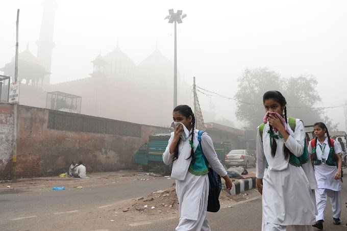 India on top in the list of most polluted countries of the...!!!
