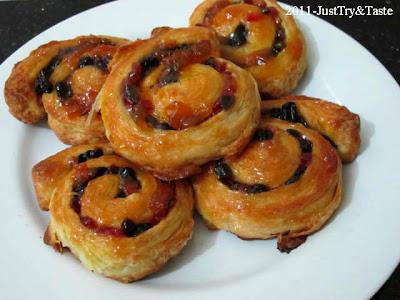 Obsesi Roti 2: Pain au  Raisin (Roti Gulung Kismis) JTT