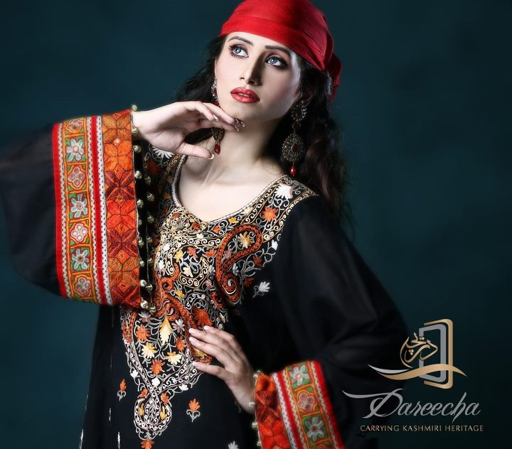 New Neckline Range Embroidered Collection By Dareecha