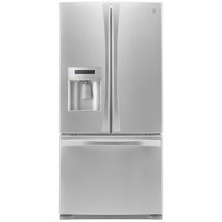 Kenmore Elite French Door Bottom Freezer Refrigerator