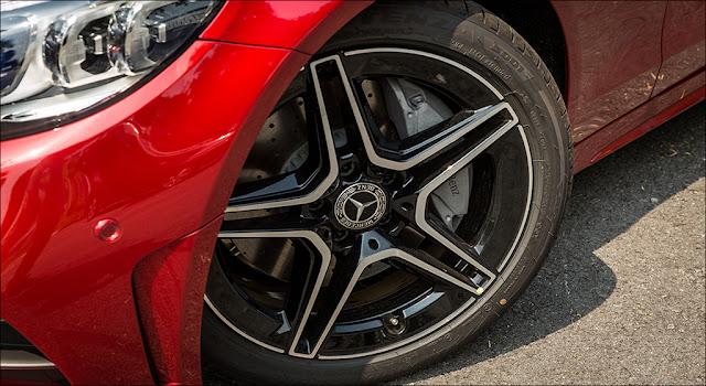 Thiết kế mâm xe Mercedes C300 AMG 2019