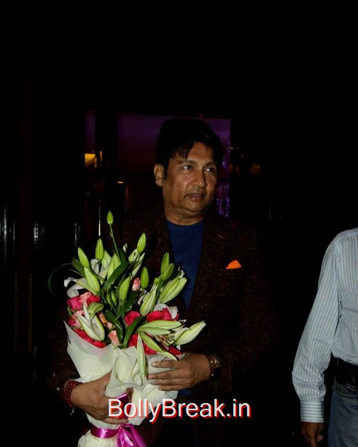 Shekhar Suman, Singer Abhijeet Wedding Anniversary Photo Gallery