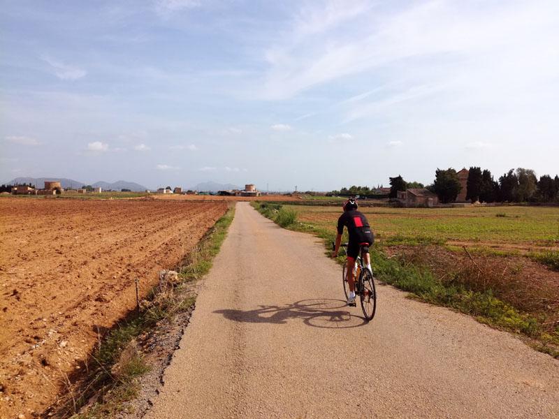 Foto: in bici a Maiorca