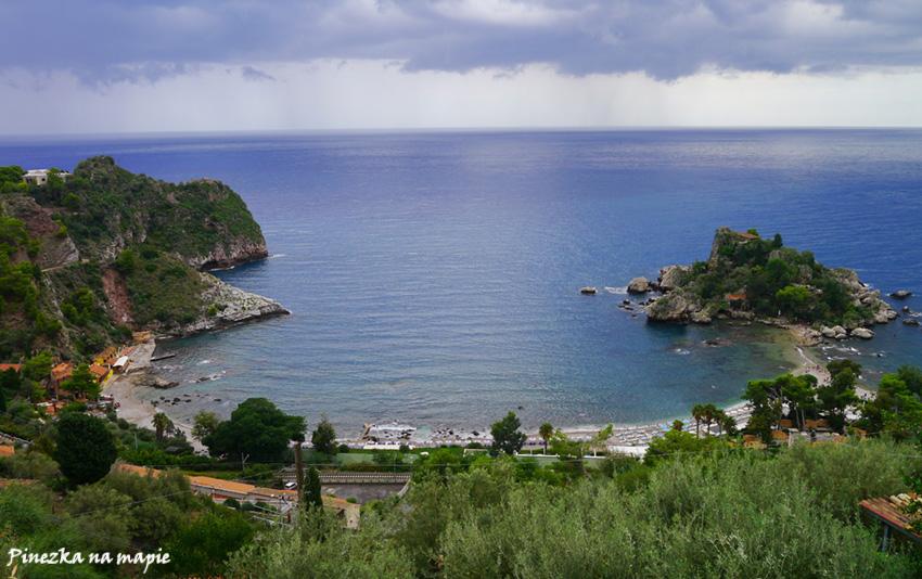 plaże w Taorminie