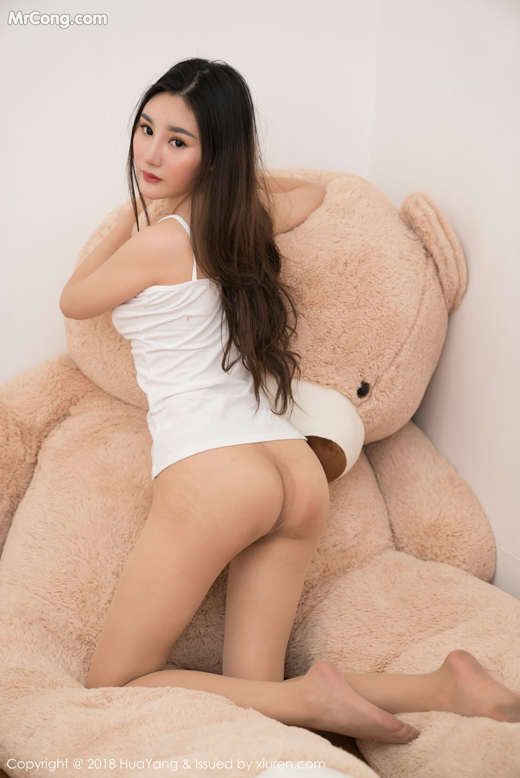 Image HuaYang-2018-03-02-Vol.034-Xiao-Tian-Xin-Candy-MrCong.com-031 in post HuaYang 2018-03-02 Vol.034: Người mẫu Xiao Tian Xin (小甜心Candy) (41 ảnh)