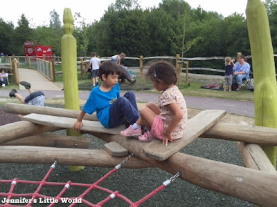 Dinosaur Island playground at Southwater Country Park