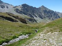 シャムシエール峠 col de Chammoussière 下山