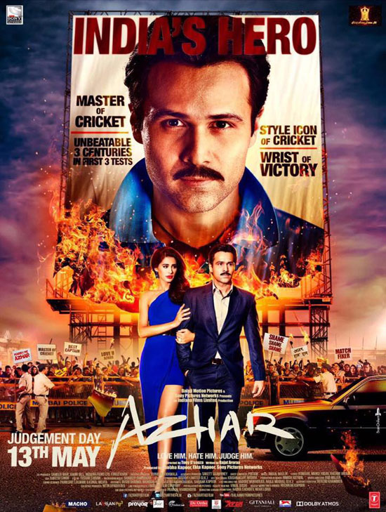 full cast and crew of bollywood movie Azhar! wiki, story, poster, trailer ft Emraan Hashmi, Nargis Fakhri, Prachi Desai, Huma Qureshi, Gautam Gulati