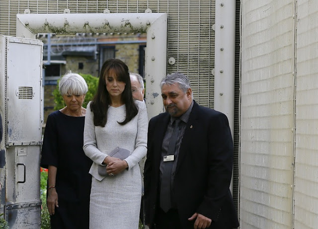 Kate visits a women's jail and rehab centre in Working, Surrey