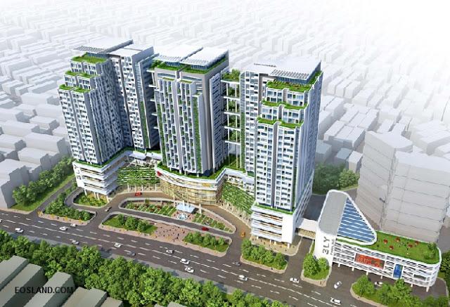 Phối cảnh dự án chung cư Sun Grand City Lương Yên