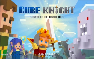 Game Android Cube Knight Battle of Camelot Download