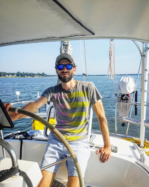 Borealis Hallberg Rassy 37 Herrington Marina sailing