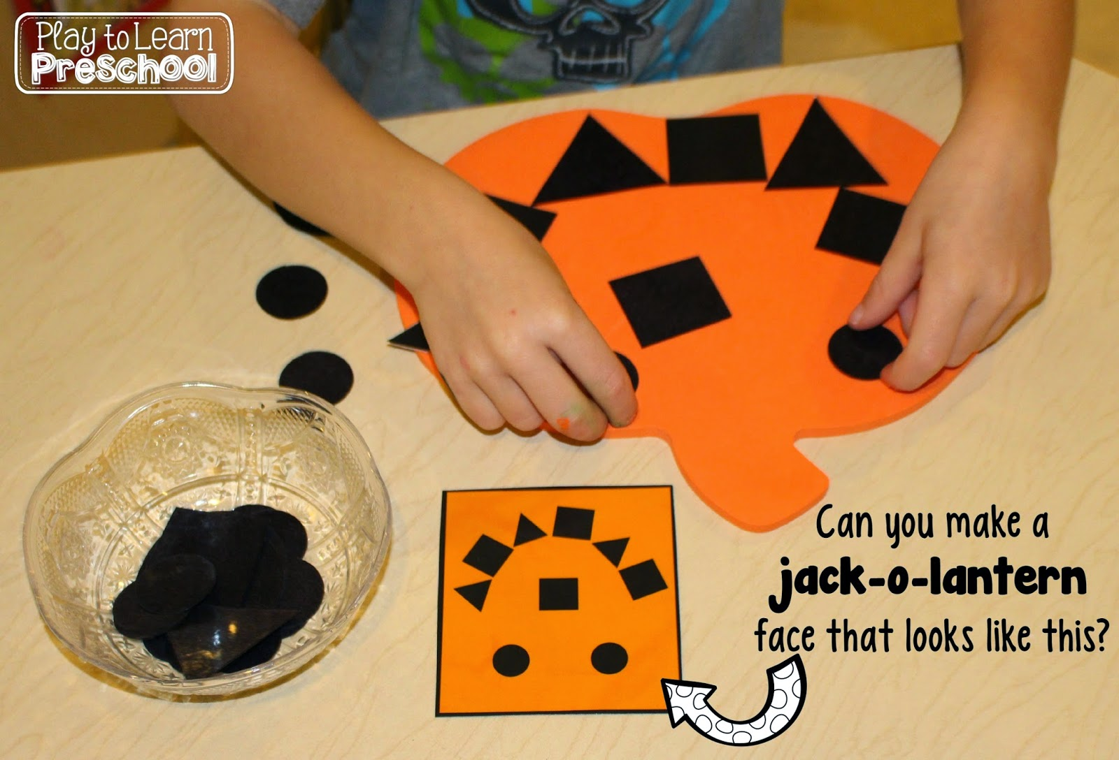 Play To Learn Preschool Easy Jack O Lanterns