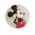 Mickey - Botton (#MI001) - 3,8 cm