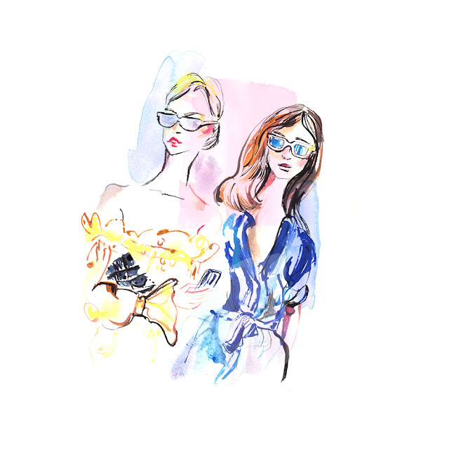 illustratewithus fashion illustration