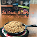 Smoked Bourbon Apple Crisp #RecipeMakeOver