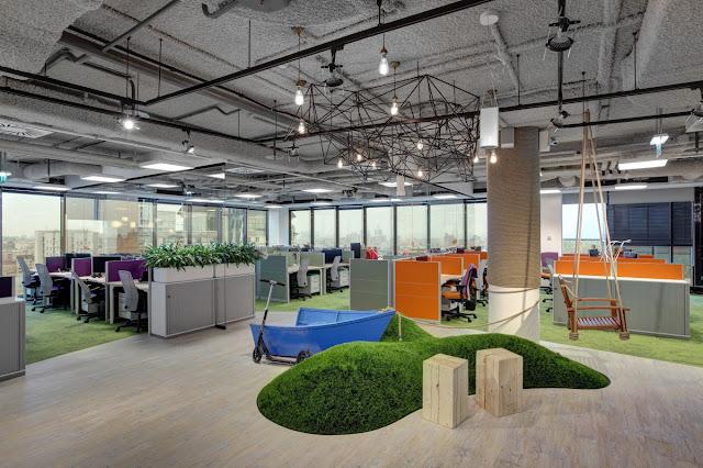 Новости дизайна. Креативный дизайн нового офиса компании Avito