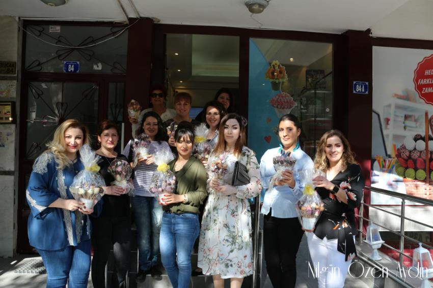 etkinlikler-Nefis Demet-Workshop-kek ve çikolatalar-Çikolatalı meyve topları-Ankaralı Bloggerlar