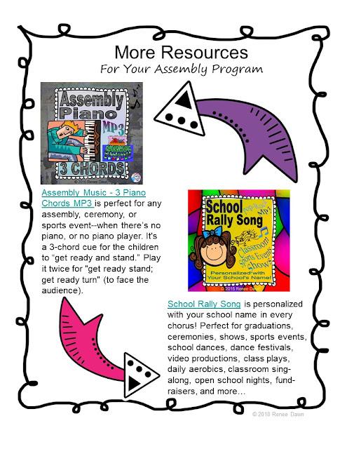 Kindergarten Graduation Song and Resources
