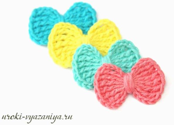 Como hacer un Lacito de Crochet
