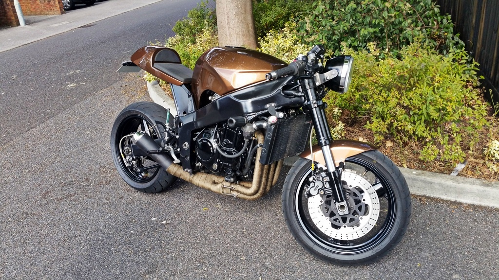 kawasaki zxr cafe racer | 99garage | cafe racers customs passion