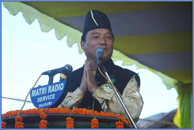 Bimal Gurung unable to land at Bagdogra Airport