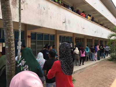 Selesai Mengundi Untuk PRU14 Demi Negara Malaysia
