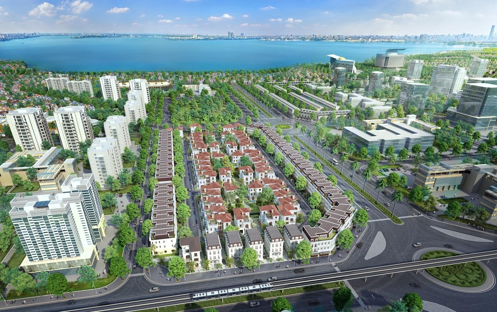 Vị trí là một yếu tố quyết định đến giá trị của Bất động sản (hình ảnh dự án Embassy Garden)