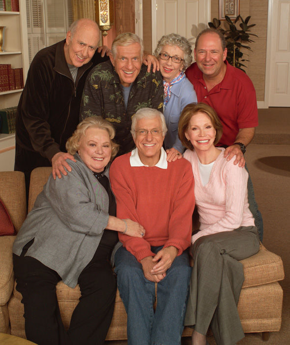 "Marie regathered for a ""Van Dyke Show"" TV reunion in 2004."