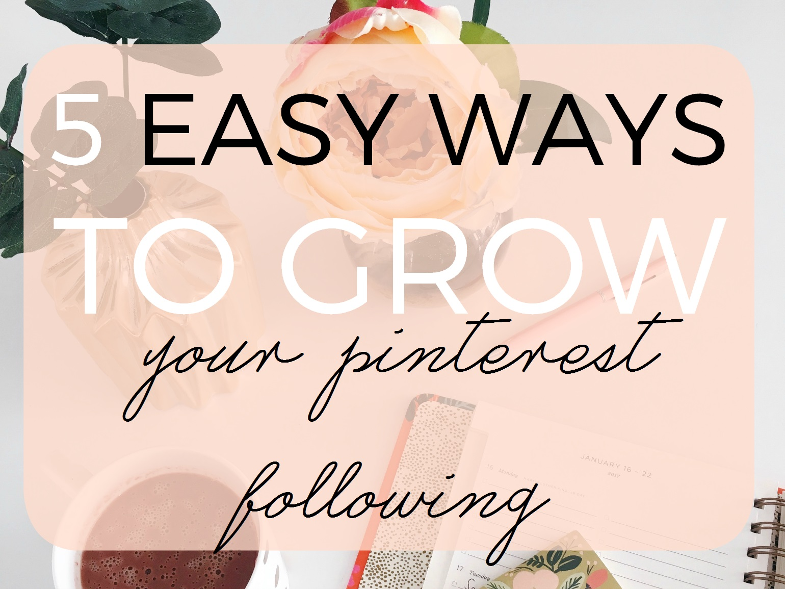 Get more pinterest followers