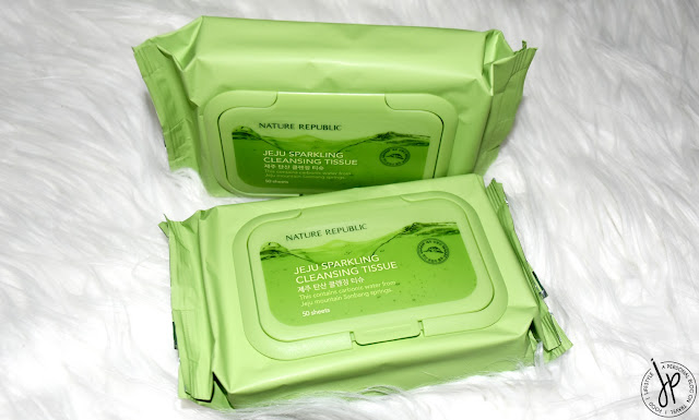 nature republic cleansing tissue (makeup remover wipes)