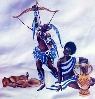Batuque do Rio Grande Sul Características Odé Orixás Otim Religião Afro  - Sobre os Orixás Odé e Otim