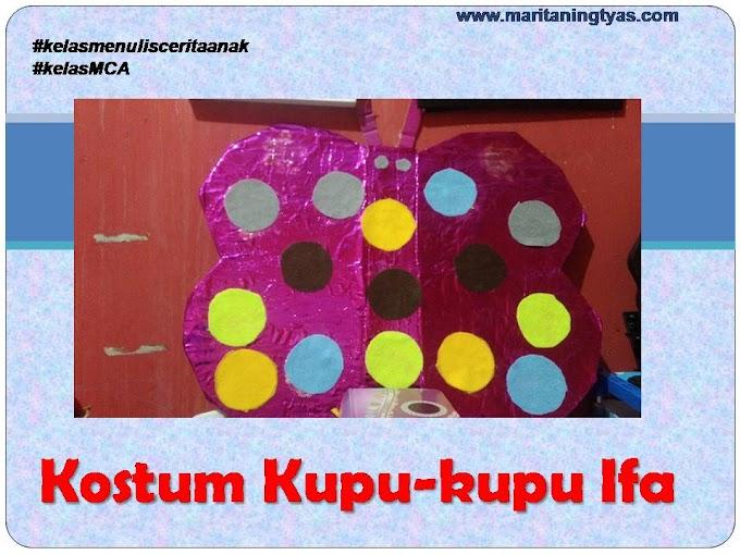 Kostum Kupu-kupu Ifa