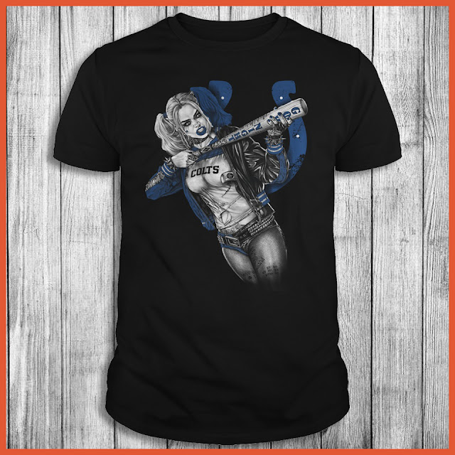 Indianapolis Colts Harley Quinn T-Shirt