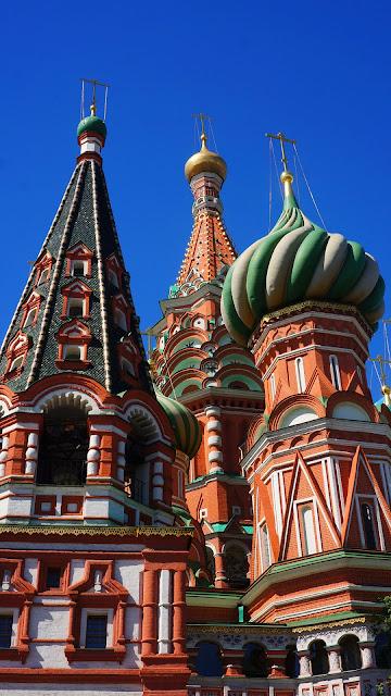 Изображение с востока Храма Василия Блаженного