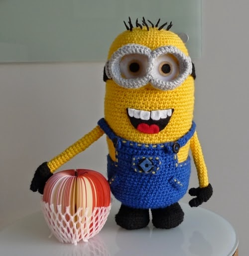 despicable me minion crochet