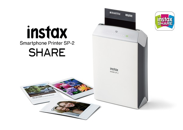Fujifilm releases instant smartphone printer, the instax SHARE Smartphone Printer SP-2