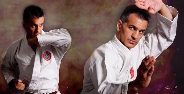 Raul Cabral - Maestro en escuela Karate Do Herbert