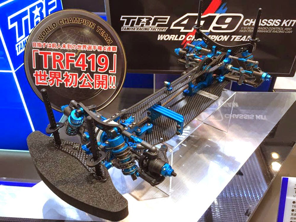 Trf: Tamiya 42285 TRF419 Official Picture And Info