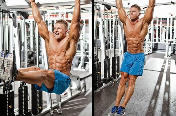 Hanging Leg Raise With Straps Hanging leg raises