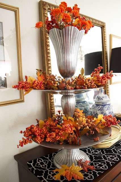 Decorating, Fall, Tiered Tray