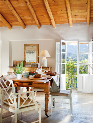 Restored rustic house in Spain/lulu klein