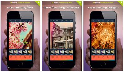 تطبيق fx maker لتحرير الصور للايفون اخر اصدار 2017